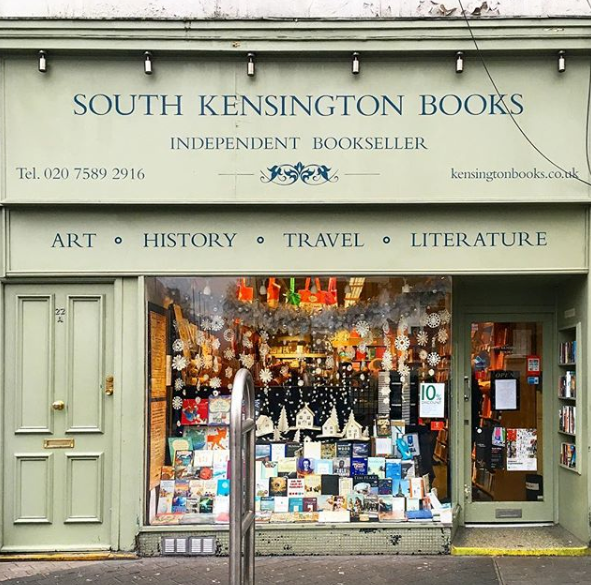 South Kensington Books - Photo Credit: @glo_z